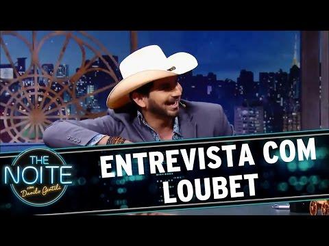 The Noite (08/06/16) Entrevista com Loubet