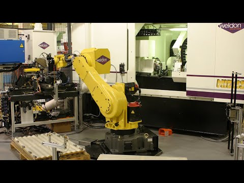 Industrial Automation with Weldon Robotics