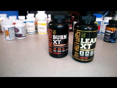 JACKED FACTORY - BURN XT & LEAN XT - Fat Burner Review