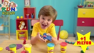 Play Doh'la İçim Rahat!   Bak Anne Faree Korktun Mu Reklamı