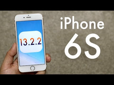 iOS 13.2.2 OFFICIAL On iPHONE 6S! (Review)