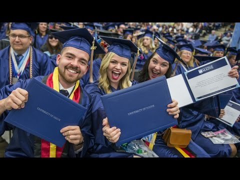 UMaine's 215th Commencement — Morning Ceremony