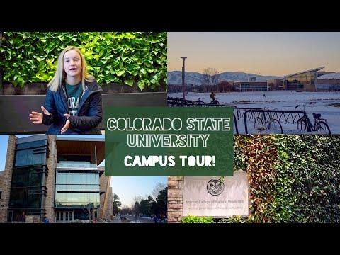 Colorado State University Campus Tour︱2019
