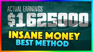 How To Make $1,625,000 Million PER HOUR in GTA 5 Online | NEW Best Fast Unlimited Money Guide/Method