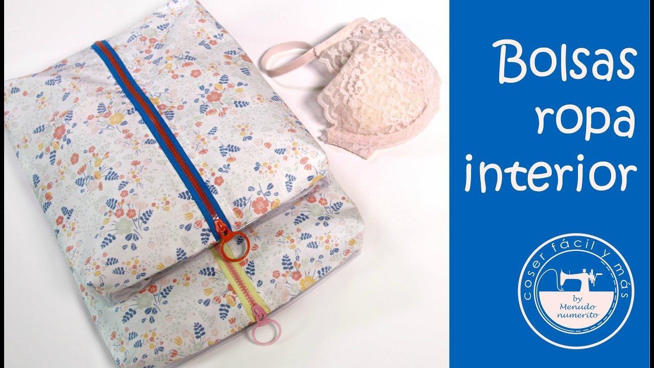 Bolsas para ropa interior ideas para viajar youtube - Bolsas para ropa ...