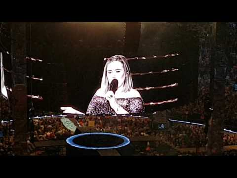 Adele Final Speech & Someone Like You & Epic Exit ❤