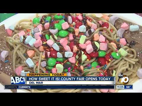How sweet it is! San Diego County fair opens