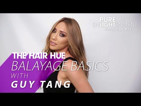 How-To: Guy Tang and PRAVANA Balayage Basics – Balayage Highlighting Step by Step
