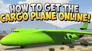 GTA 5 Glitches - NEW How To Get The Cargo Plane Glitches After 1.12 In GTA 5 Online (GTA 5 Glitches)