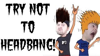 try not to headbang challenge (jared dines edition)