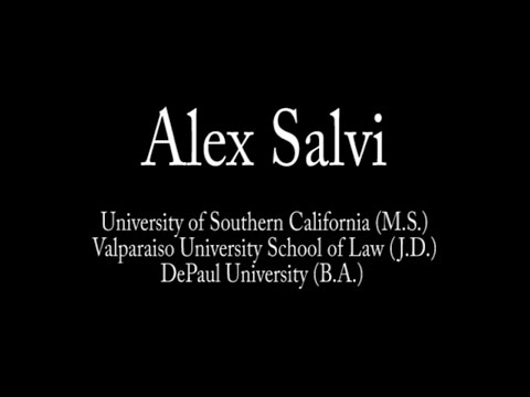 Alex Salvi Reporter Reel
