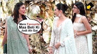 Kareena Kapoor's CUTE Reaction Seeing SISTER Karisma Kapoor ARRIVE Wid Daughter Samaira Kapoor