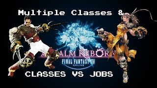 FFXiV: ARR - New player tips on Multiple classes