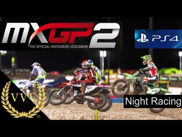 MXGP 2 PS4 Preview - Night Racing