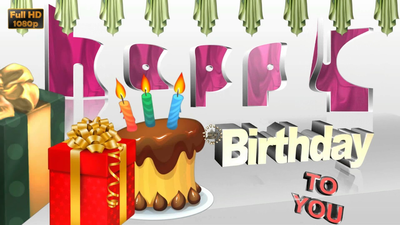 Happy Birthday Wishes Free DownloadWhatsApp Status VideoGreetings