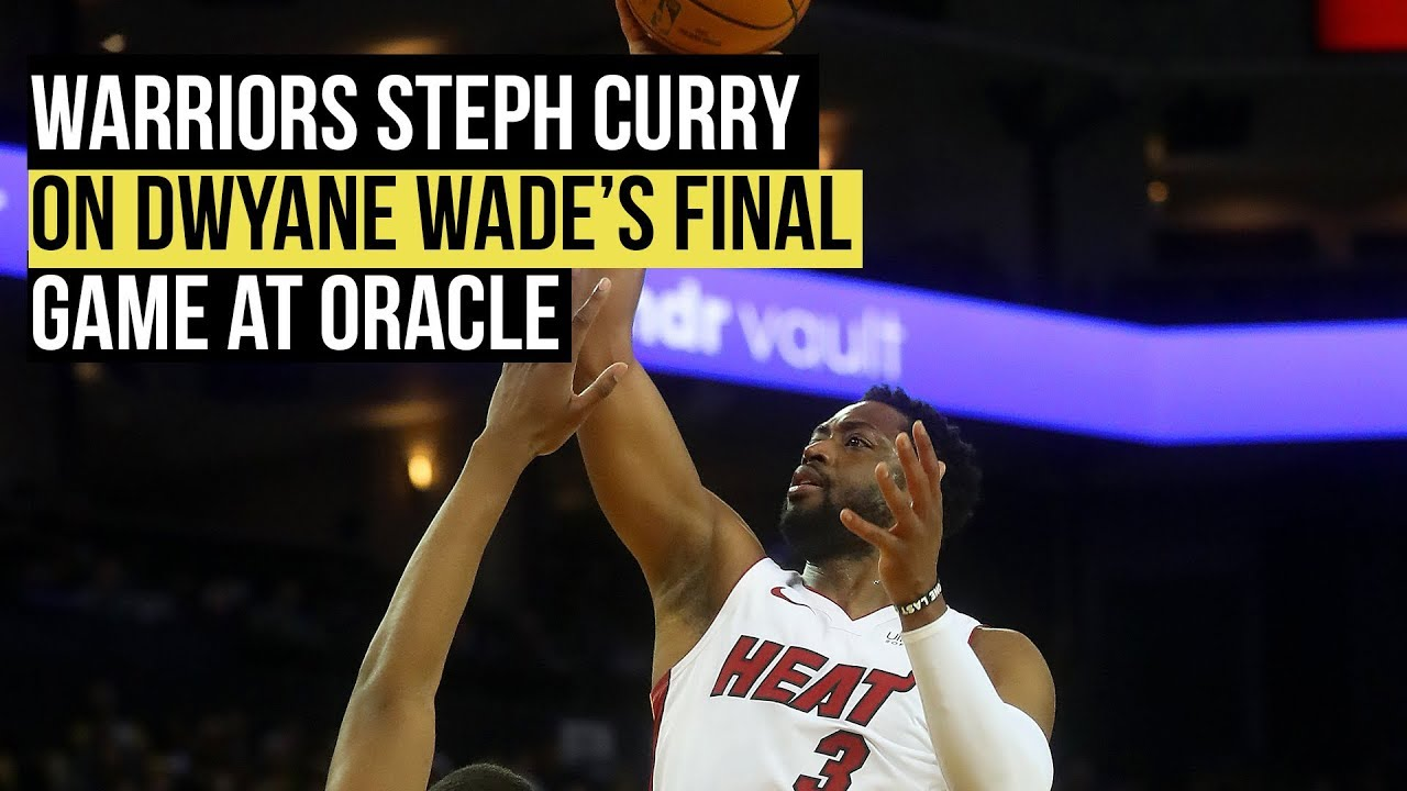 "818b94ddc Stephen Curry on Dwyane Wade  ""he s got a lot more in the tank ..."