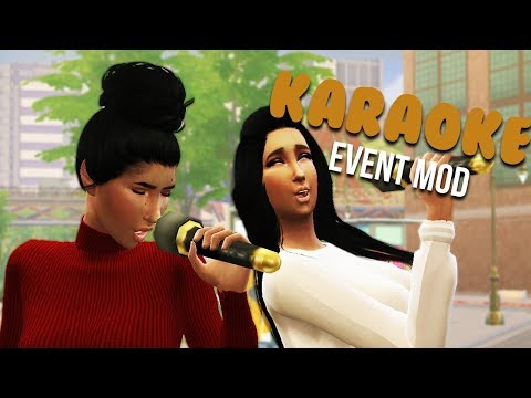 KARAOKE EVENT MOD | The Sims 4 Mods