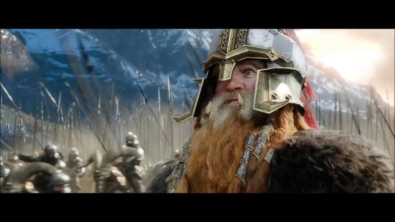 Sabaton To Hell And Back Hobbit Youtube