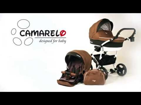 Camarelo Carera NEW - видео обзор коляски Камарело Карера 2017 с отзывами родителей