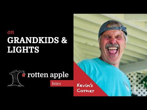 On Grandkids & Lights - Kevin's Corner