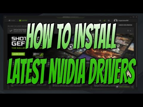 Easiest Way To Install The Latest NVIDIA Drivers On Windows Laptop & PC Tutorial