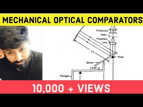 Optical Comparators : Mechanical Optical Comparator in Metrology