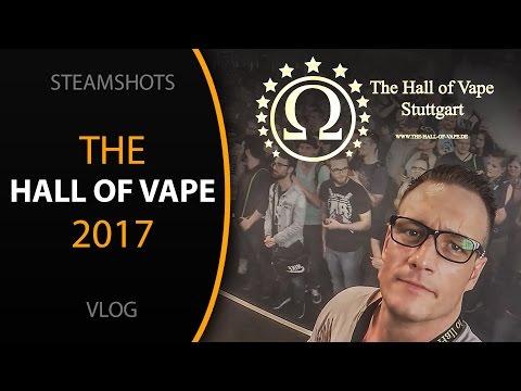 Mein Wochenende auf der → The Hall of Vape ← 2017 😜✌