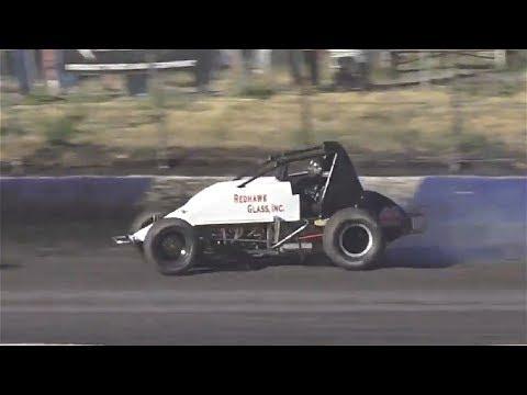 Wingless Spec Sprints HEAT ONE 7-27-19 Petaluma Speedway