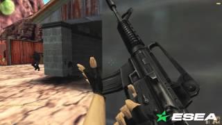 CS 1.6 THROWBACK Frag Clip: EG n0thing vs Redcode Wallbang Ace on de_nuke - POV In-Eyes Demo