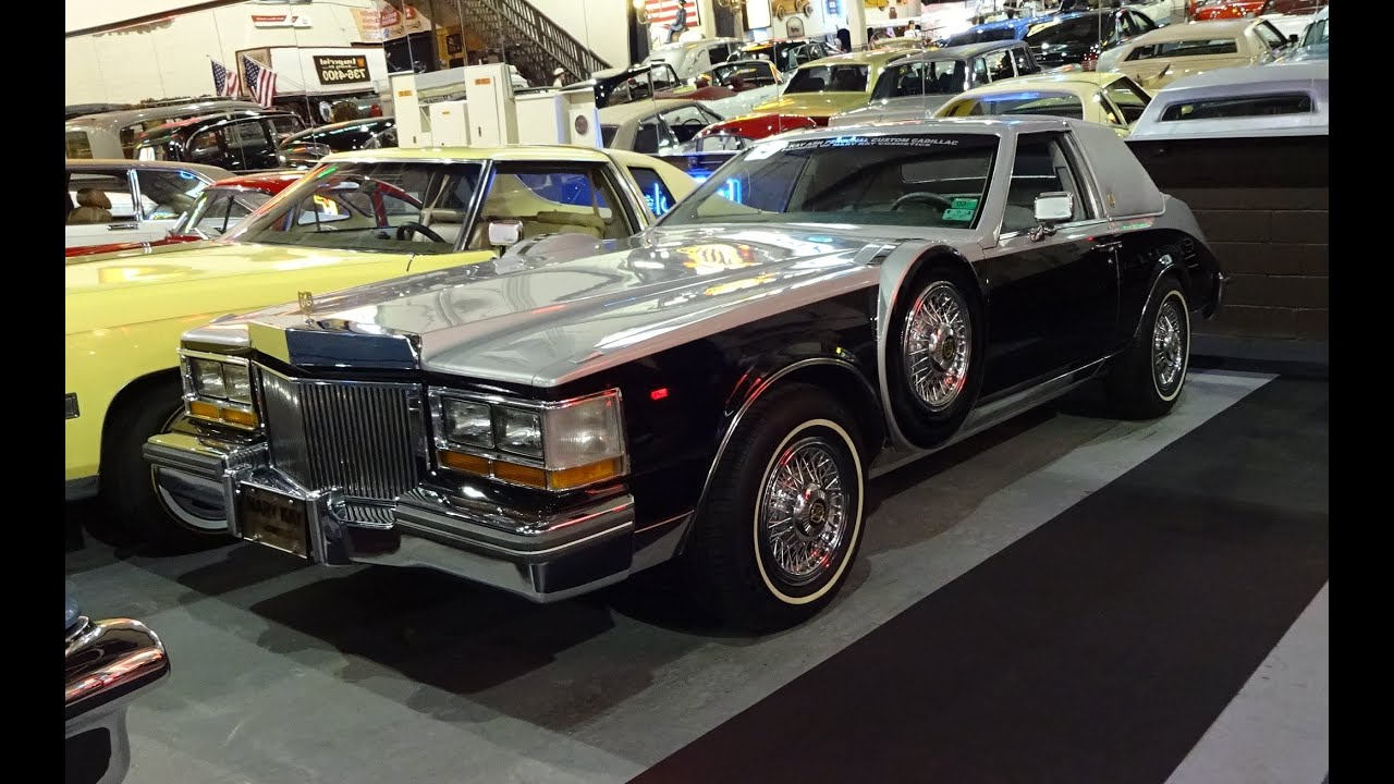 1981 Cadillac Caddy Seville is the First 1st Mary Kay Cosmetics Car