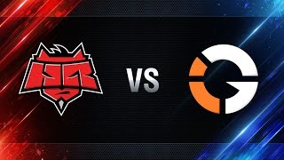 IMPACT Gaming vs HellRaisers - day 2 week 7 Season I Gold Series WGL RU 2016/17