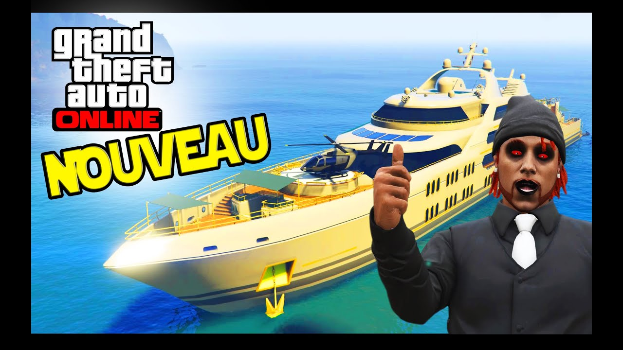 nouveau bateau de luxe gta 5 online d lire youtube. Black Bedroom Furniture Sets. Home Design Ideas