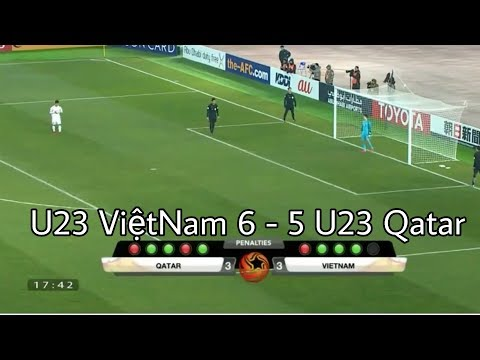 Cùng Xem Lại Loạt Đá Penalty U23 VietNam - U23 Qata Chiến Thắng Cảm Xúc Vỡ Oà | Tường Trần CFM