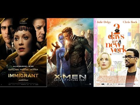 CUT! 27/5/14 X Men: days of future past, The Immigrant, 2 days in NY