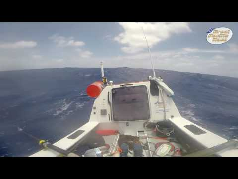 B roll Great Pacific Race  Uniting Nations   Footage from the crew