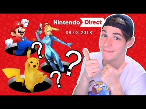 SUPER SMASH BROS SWITCH | REACCIÓN