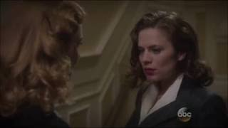 Marvel's Agent Carter - Peggy & Dottie Kiss HD