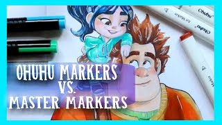 OHUHU MARKERS vs MASTER MARKERS