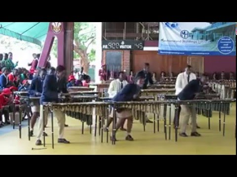 Best marimba challenge 4th March 2016( Zimbabwe Schools competition)