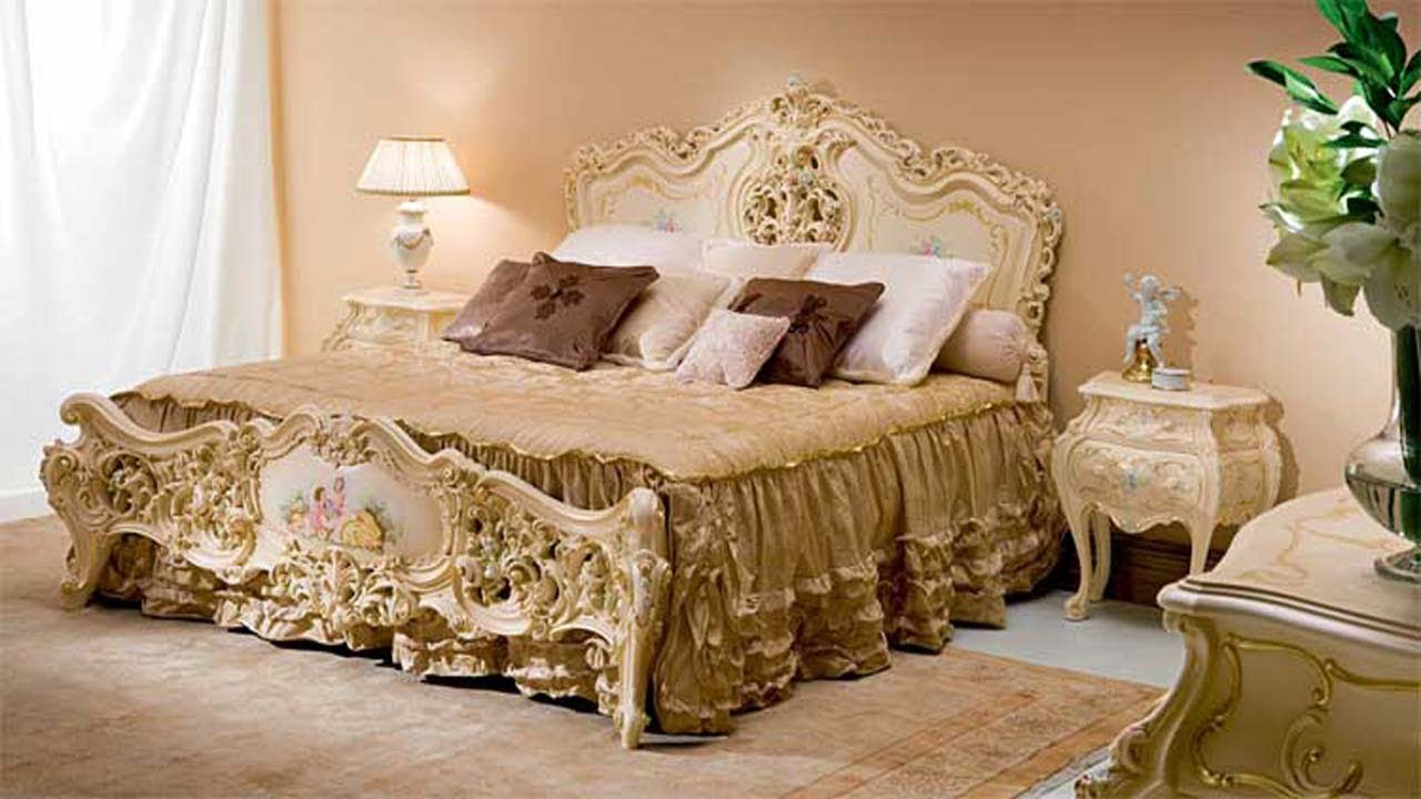 Wooden Double Bed Design For Home In India And Pakistan