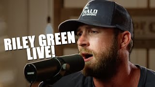 Riley Green's Acoustic Cover of 'Cold Beer With Your Name On It' Hurts So Good