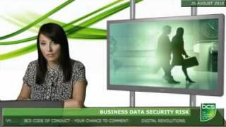 Business data security risk