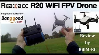 Realacc R20 WiFi FPV Altitude Hold Drone review
