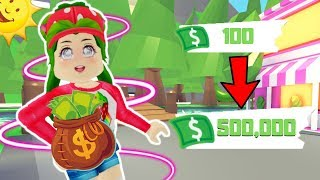 🤑 THESE ARE MY TIPS TO HAVE A LOT OF UNLIMITED MONEY IN ADOPT ME🤑- ROBLOX