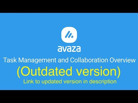 Avaza - Task Management & Collaboration Overview