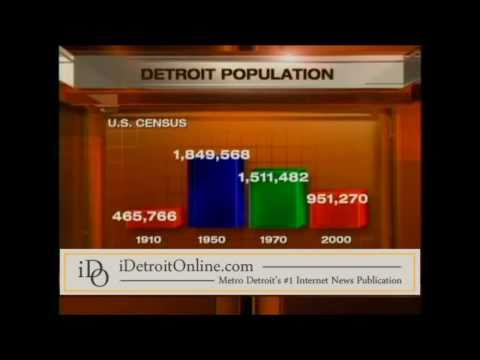 Census 2010 indicates Detroit's population plummets to 713,777, lowest since 1910