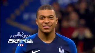 BA TF1 2018 Merci et bravo ! / Ligue des Nations de l'UEFA 2018-2019 : Allemagne / France 06 09 2018