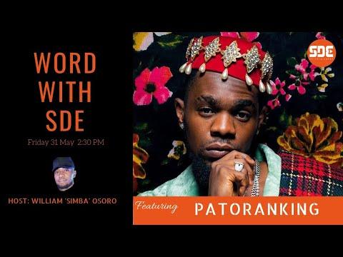 Patoranking on #WordWithSDE
