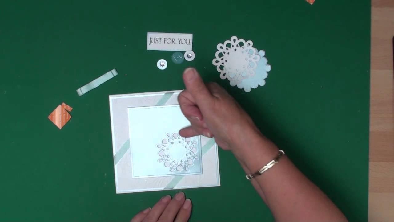 Card Making Magic Ideas Part - 43: Spellbinders Medallions Seven (card-making-magic.com) - YouTube