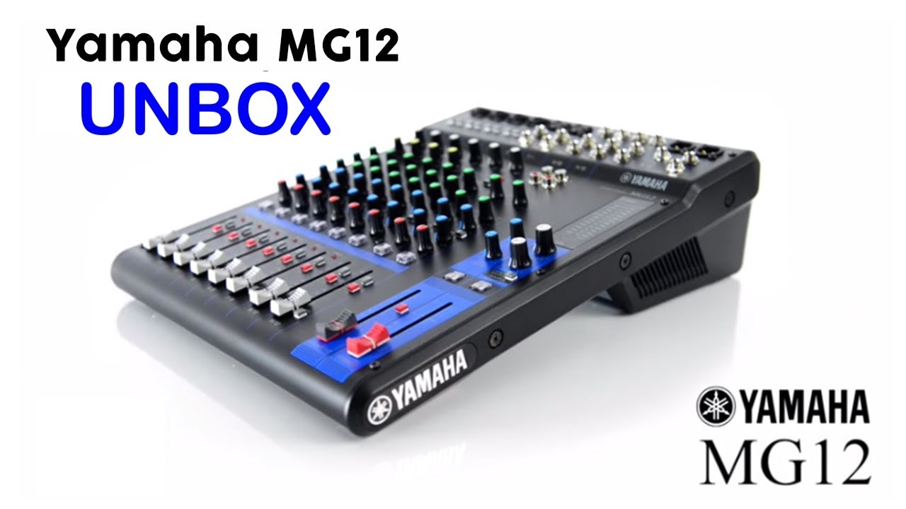Yamaha 12 Channel Mg12xu Unbox And Quick Review Youtube Mgp12x